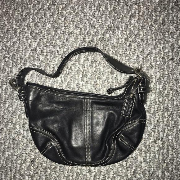 Coach Handbags - Authentic Coach Black Leather Purse
